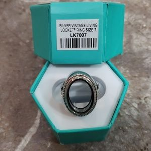 Origami Owl Charm ring